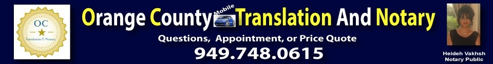 OC Mobile Notary & Translation
